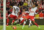 Independiente Santa Fe igualó como local 0-0 ante Patriotas. Fecha 8 Liga Águila I-2017.