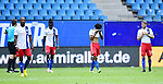 v.l. David Kinsombi, Bakery Jatta, Jeremy Dudziak, Aaron Hunt (HSV) nach dem 1:4<br />Hamburg, 28.06.2020, Fussball 2. Bundesliga, Hamburger SV - SV Sandhausen<br />Foto: Tim Groothuis/Witters/Pool//via nordphoto<br /> DFL REGULATIONS PROHIBIT ANY USE OF PHOTOGRAPHS AS IMAGE SEQUENCES AND OR QUASI VIDEO<br />EDITORIAL USE ONLY<br />NATIONAL AND INTERNATIONAL NEWS AGENCIES OUT