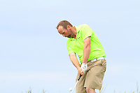 Simon Bryan (Delgany) on the 16th tee during Round 3 of The South of Ireland in Lahinch Golf Club on Monday 28th July 2014.<br /> Picture:  Thos Caffrey / www.golffile.ie