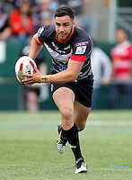 Api Pewhairangi in action for London during the Kingstone Press Championship game between London Broncos and Leigh Centurions at Ealing Trailfinders, Ealing, on Sun June 26,2016