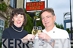 PROUD: The parents of actor Michael Fassbender, Adele and Josef, Killarney celebrate his success at the Cannes film festival for his betrayal of Bobby Sands in the movie Hunger   Copyright Kerry's Eye 2008