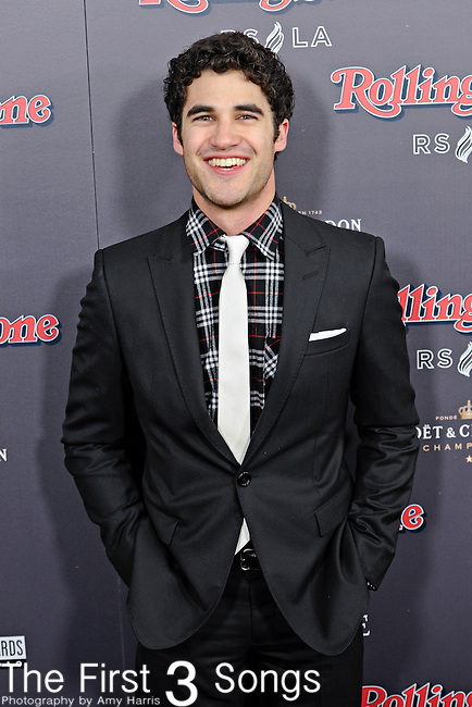 """Actor Darren Criss, presently appearing in the television series """"Glee"""", attends the 2010 American Music Awards VIP After Party hosted by Rolling Stone Magazine at the Rolling Stone Restaurant & Lounge in Los Angeles, California."""