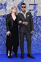 "LONDON, UK. May 20, 2019: Kelly Osbourne and Jimmy Q arriving for the ""Rocketman"" UK premiere in Leicester Square, London.<br /> Picture: Steve Vas/Featureflash"