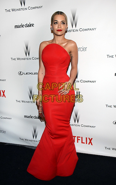 11 January 2015 - Beverly Hills, California - Rita Ora. The Weinstein Company and Netflix 2015 Golden Globes After Party celebrating the 72nd Annual Golden Globe Awards held at Robinsons May Lot.  <br /> CAP/ADM/TW<br /> &copy;TW/ADM/Capital Pictures