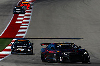 IMSA Continental Tire SportsCar Challenge<br /> Advance Auto Parts SportsCar Showdown<br /> Circuit of The Americas, Austin, TX USA<br /> Friday 5 May 2017<br /> 57, Chevrolet, Chevrolet Camaro GT4.R, GS, Matt Bell, Robin Liddell<br /> World Copyright: Jake Galstad<br /> LAT Images
