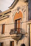 SERBIA, Belgrade,An old balcony in Belgrade, Eastern Europe