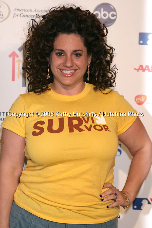 "Marissa Jaret Winokur   arriving at the taping of ""Stand Up 2 Cancer"" program at the Kodak Theater in Los Angeles, CA on.September 5, 2008.©2008 Kathy Hutchins / Hutchins Photo...."