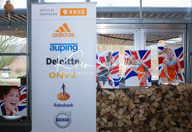 VOGELENZANG - Spelerslunch KNHB 2019.   Hockey internationals Nederlands dames en heren met sponsoren. COPYRIGHT KOEN SUYK