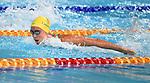 Emma McKeon (AUS) in the womens 100m butterfly semi-final heat 1. Swimming finals. XXI Commonwealth games. Optus Aquatics Centre. Gold Coast 2018. Queensland. Australia. 05/04/2018. ~ MANDATORY CREDIT Garry Bowden/SIPPA - NO UNAUTHORISED USE - +44 7837 394578