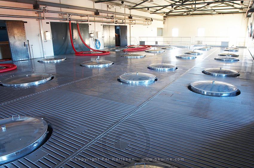 fermentation tank tops quinta do seixo sandeman douro portugal