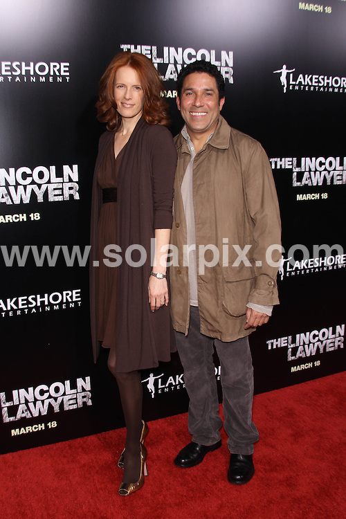 **ALL ROUND PICTURES FROM SOLARPIX.COM**                                             **SYNDICATION RIGHTS FOR UK, AUSTRALIA, DENMARK, PORTUGAL, S. AFRICA, SPAIN & DUBAI (U.A.E) & ASIA (EXCLUDING JAPAN) ONLY**                                                                                  Caption: Arrivals at the Los Angeles Premiere of - The Lincoln Lawyer, held at the ArcLight Theatre, Hollywood, CA, USA. 10 March 2011                                                                              This pic: Oscar Nunez                                                                                           JOB REF: 12950 PHZ Evans      DATE: 10_03_2011                                                            **MUST CREDIT SOLARPIX.COM OR DOUBLE FEE WILL BE CHARGED**                                                                      **MUST AGREE FEE BEFORE ONLINE USAGE**                               **CALL US ON: +34 952 811 768 or LOW RATE FROM UK 0844 617 7637**