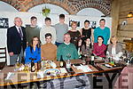 Iarla Courtney from Ardfert celebrating his 21st birthday in Croi on Saturday night <br /> Seated l-r, Claire Shanahan, Iarla, Frank, Brid and Alva Courtney and Margaret Murphy.<br /> Back l-r, Paud Murphy, Eoin Courtney, Paudie O&rsquo;Regan, Darragh, Jean, Deirdre and Brendan Courtney.