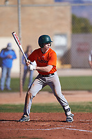 Jesse Guevara (54), from San Francisco, California, while playing for the Orioles during the Under Armour Baseball Factory Recruiting Classic at Gene Autry Park on December 30, 2017 in Mesa, Arizona. (Zachary Lucy/Four Seam Images)