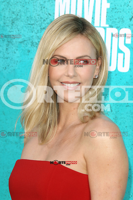 Charlize Theron at the 2012 MTV Movie Awards held at Gibson Amphitheatre on June 3, 2012 in Universal City, California. ©mpi29/MediaPunch Inc.