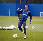 18.09.2019 Rangers training: Scott Arfield