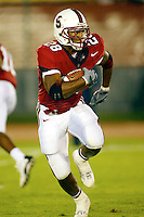 J.R. Lemon during Stanford's 63-26 win over San Jose State on September 14, 2002 at Stanford Stadium.<br />