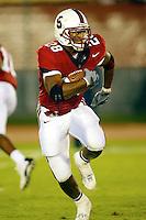 J.R. Lemon during Stanford's 63-26 win over San Jose State on September 14, 2002 at Stanford Stadium.<br />Photo credit mandatory: Gonzalesphoto.com