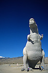 T Rex Roadside attraction, the worlds largest dinosaurs, Cabazon, California, west of Palm Springs, California State USA