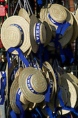 Gondoliere's straw hats sold as souvenires.