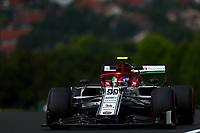 #99 Antonio Giovinazzi; Alfa Romeo Racing. Hungarian GP, Budapest 2-4 August 2019<br /> Budapest 02/08/2019 GP Hungary <br /> Formula 1 Championship 2019 Race  <br /> Photo Federico Basile / Insidefoto