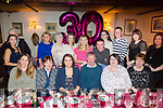 Therese Kennelly, Tarbert, celebrates her 30th birthday with family at Cassidy's on Saturday