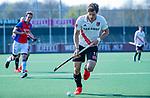 AMSTELVEEN -Boris Burkhardt (Adam)    tijdens  de hoofdklasse competitiewedstrijd hockey heren,  Amsterdam-SCHC (3-1).  COPYRIGHT KOEN SUYK