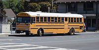 School bus, California, USA, 201305012273<br /> <br /> Copyright Image from Victor Patterson, 54 Dorchester Park, Belfast, UK, BT9 6RJ<br /> <br /> Tel: +44 28 9066 1296<br /> Mob: +44 7802 353836<br /> Voicemail +44 20 8816 7153<br /> Skype: victorpattersonbelfast<br /> Email: victorpatterson@me.com<br /> Email: victorpatterson@ireland.com (back-up)<br /> <br /> IMPORTANT: If you wish to use this image or any other of my images please go to www.victorpatterson.com and click on the Terms &amp; Conditions. Then contact me by email or phone with the reference number(s) of the image(s) concerned.