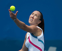 JELENA JANKOVIC..Tennis - Apia Sydney International -  Sydney 2013 -  Olympic Park - Sydney - NSW - Australia.Monday 7th January  2013. .© AMN Images, 30, Cleveland Street, London, W1T 4JD.Tel - +44 20 7907 6387.mfrey@advantagemedianet.com.www.amnimages.photoshelter.com.www.advantagemedianet.com.www.tennishead.net