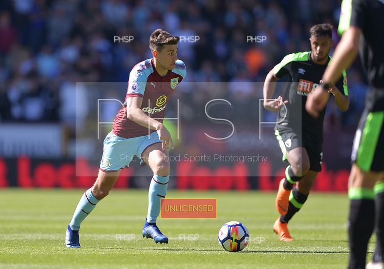 13/05/2018 Premier League Burnley v AFC Bournemouth<br /> <br /> Matthew Lowton