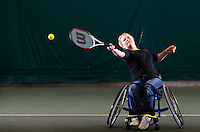 Debbie Austin, who suffers from Multiple Sclerosis, was decided to take on sport after going to watch the Paralympics in London. She wanted to prove to her teenage children that life doesn&rsquo;t stop in a wheelchair.<br /> &ldquo;Without the Paralympics I never would of got involved with Sport, but now I have it&rsquo;s improved my confidence in all walks of life. I feel like I&rsquo;m dancing in that wheelchair, I feel like I&rsquo;m on the stage, dancing, whacking the ball around.&rdquo;