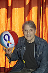 "Jay Hammer, ""Fletcher"" - Guiding Light holds an Autism beach ball - 11th Annual Daytime Stars & Strikes Event for Autism - 2015 on April 19, 2015 hosted by Guiding Light's Jerry ver Dorn (& OLTL) and Liz Keifer at Bowlmor Lanes Times Square, New York City, New York. (Photos by Sue Coflin/Max Photos)"