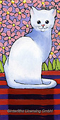 Kate, CUTE ANIMALS, LUSTIGE TIERE, ANIMALITOS DIVERTIDOS, paintings+++++Pet portrait 1.,GBKM469,#ac#, EVERYDAY ,cat,cats