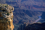 Eroded cliffs on the South Rim, Grand Canyon Nat. Pk., ARIZONA