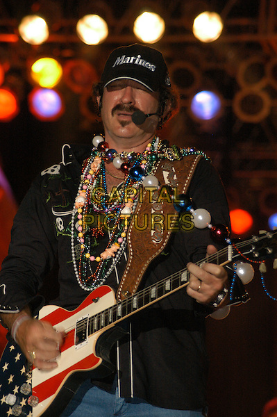 KIX BROOKS (BROOKS & DUNN).Jamboree in the Hills  .Morristown, 16th July 2005.stage gig country music festival half length microphone juitar.Ref: Kelly Belcher.www.capitalpictures.com.sales@capitalpictures.com.© Capital Pictures.