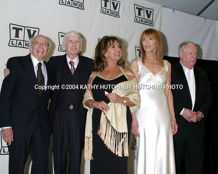 ©2004 KATHY HUTCHINS /HUTCHINS PHOTO.TV LAND AWARDS.HOLLYWOOD, CA.MARCH 7, 2004..BOB DENVER.DAWN WELLS.TINA LOUISE.RUSSELL JOHNSON