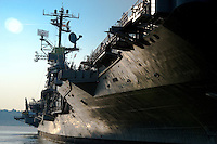 USS Intrepid....the Intrepid Air, Sea and Space Museum on the West Side of Manhattan.