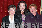 Joan Maher, Margaret McEnery and Bridie Histon, all from Athea were in great sprits at The Athea GAA Social  in The Gables Restaurant on Saturday night...   Copyright Kerry's Eye 2008
