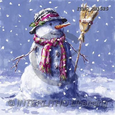 Marcello, CHRISTMAS SANTA, SNOWMAN, WEIHNACHTSMÄNNER, SCHNEEMÄNNER, PAPÁ NOEL, MUÑECOS DE NIEVE, paintings+++++,ITMCXM1525,#X#