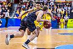 Brad LOESING (#35 S.Oliver Baskets Wuerzburg) \Lamont DaSean JONES (#20 MHP Riesen Ludwigsburg) \ beim Spiel in der BBL, MHP Riesen Ludwigsburg - S.Oliver Baskets Wuerzburg.<br /> <br /> Foto &copy; PIX-Sportfotos *** Foto ist honorarpflichtig! *** Auf Anfrage in hoeherer Qualitaet/Aufloesung. Belegexemplar erbeten. Veroeffentlichung ausschliesslich fuer journalistisch-publizistische Zwecke. For editorial use only.