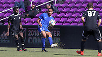 Orlando, Florida - Wednesday January 17, 2018: AJ Paterson. Match Day 3 of the 2018 adidas MLS Player Combine was held Orlando City Stadium.