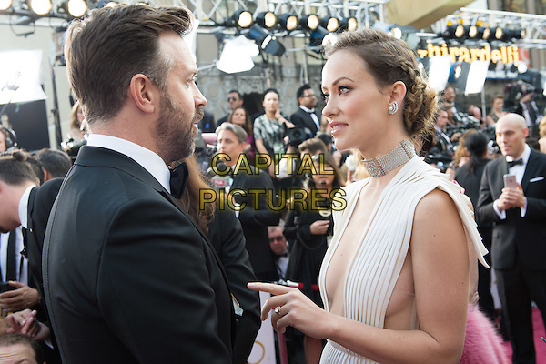 Jason Sudeikis and Olivia Wilde arrive at The 88th Oscars&reg; at the Dolby&reg; Theatre in Hollywood, CA on Sunday, February 28, 2016.<br /> *Editorial Use Only*<br /> CAP/PLF<br /> Supplied by Capital Pictures