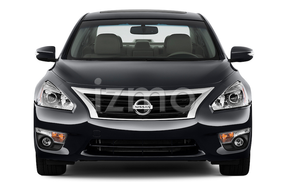 Straight front view of a 2013 Nissan Altima SL