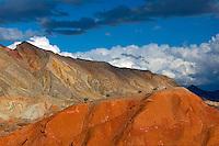 Lake Mead National Recreation Area reveals brilliant colors after a passing storm.
