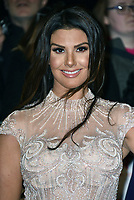 Rebekah Vardy<br /> Arrivals at the National Television Awards 2018 at The O2 Arena on January 23, 2018 in London, England. <br /> CAP/Phil Loftus<br /> &copy;Phil Loftus/Capital Pictures