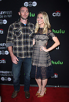 NEW YORK, NY-October 17:Jake McLaughlin, Johanna Braddy at PaleyFest New York presents Quantico at the Paley Center for Media in New York.October 17, 2016. Credit:RW/MediaPunch