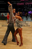 0801241175c UK Open dance competition. International Centre,  Bournemouth, United Kingdom. Thursday, 24. January 2008. ATTILA VOLGYI