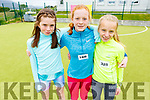 Attending the Donal Walsh 6k walk at the Spa NS on Sunday. L to r: Jessica McGibney, Laurel Mason and Mia Carmody