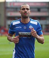 Bolton Wanderers' Darren Pratley during the pre-match warm-up <br /> <br /> Photographer Rachel Holborn/CameraSport<br /> <br /> The EFL Sky Bet Championship - Barnsley v Bolton Wanderers - Saturday 14th April 2018 - Oakwell - Barnsley<br /> <br /> World Copyright &copy; 2018 CameraSport. All rights reserved. 43 Linden Ave. Countesthorpe. Leicester. England. LE8 5PG - Tel: +44 (0) 116 277 4147 - admin@camerasport.com - www.camerasport.com