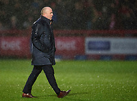 Accrington Stanley manager John Coleman<br /> <br /> Photographer Andrew Vaughan/CameraSport<br /> <br /> The EFL Sky Bet League One - Accrington Stanley v Lincoln City - Saturday 15th February 2020 - Crown Ground - Accrington<br /> <br /> World Copyright © 2020 CameraSport. All rights reserved. 43 Linden Ave. Countesthorpe. Leicester. England. LE8 5PG - Tel: +44 (0) 116 277 4147 - admin@camerasport.com - www.camerasport.com