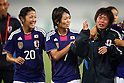 (L to R) Asano Nagasato, Kozue Ando, Megumi Takase (JPN), September 11, 2011 - Football / Soccer : Women's Asian Football Qualifiers Final Round for London Olympic Match between Japan 1-0 China at Jinan Olympic Sports Center Stadium, Jinan, China. (Photo by Daiju Kitamura/AFLO SPORT) [1045]